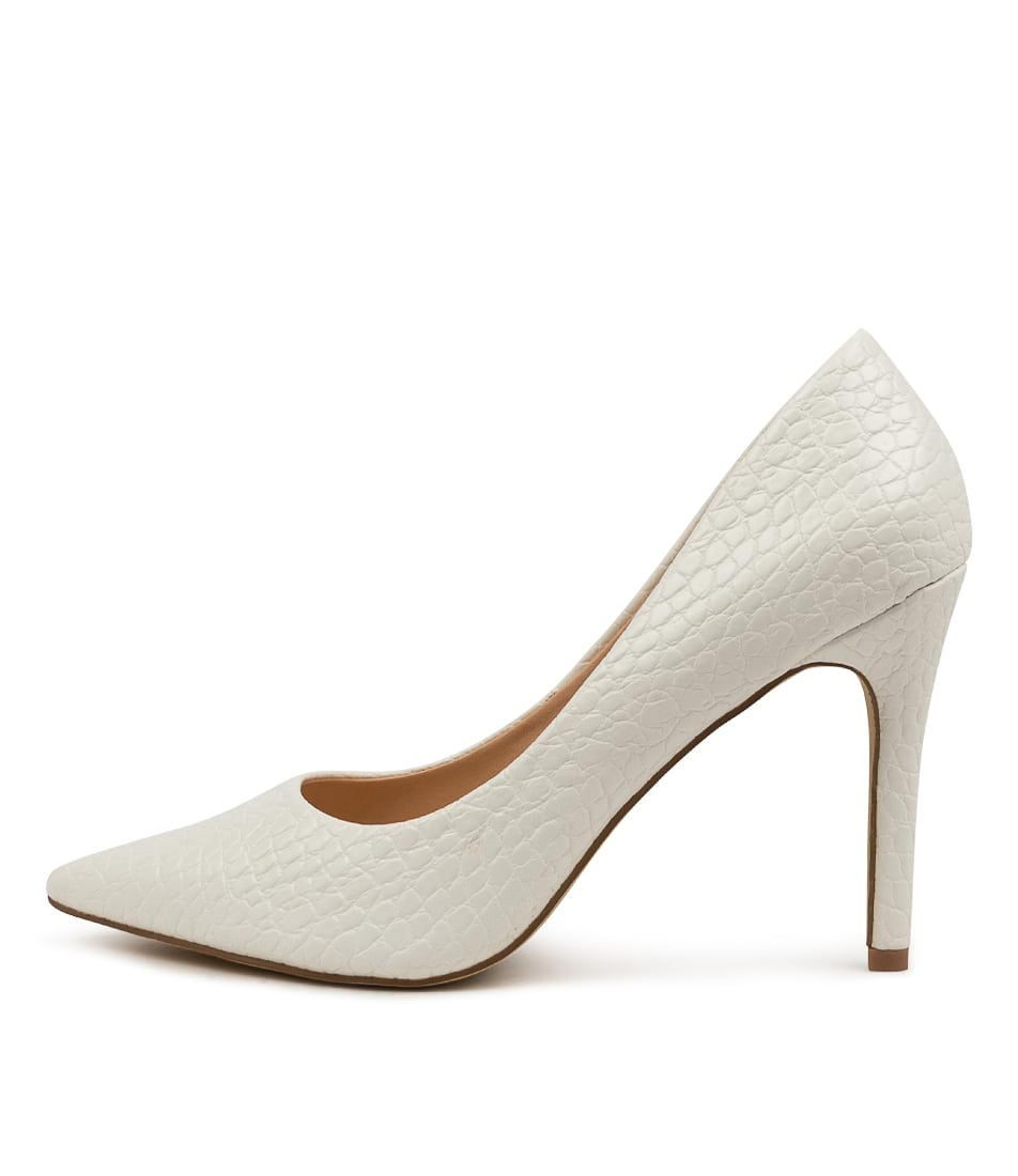 Buy Verali Harold Ii Ve White High Heels online with free shipping