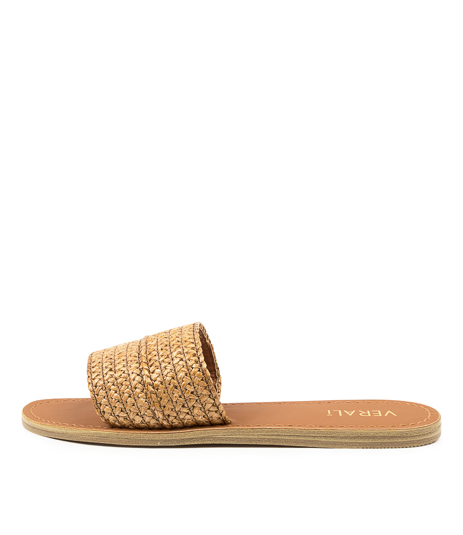 Buy Verali Talby Ii Ve Tan Flat Sandals online with free shipping