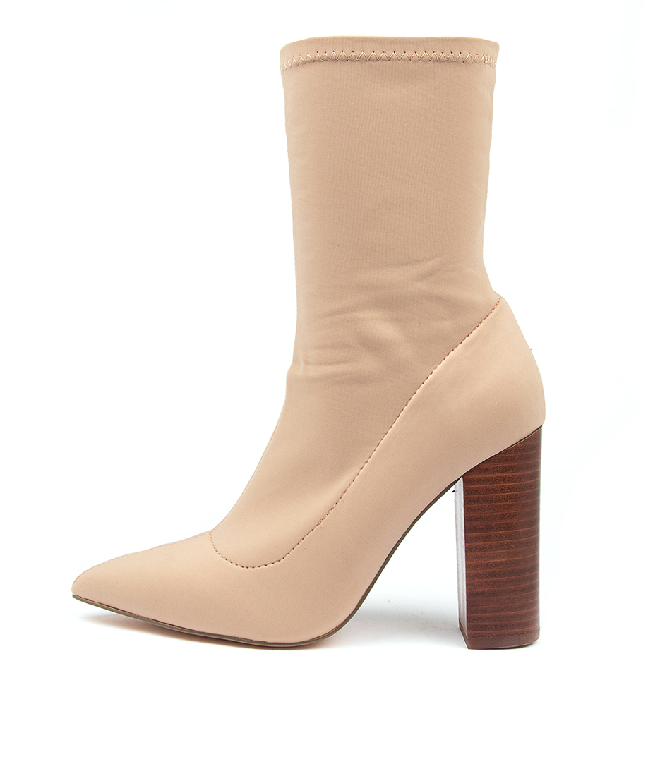 Buy Verali Duke Ve Latte Ankle Boots online with free shipping