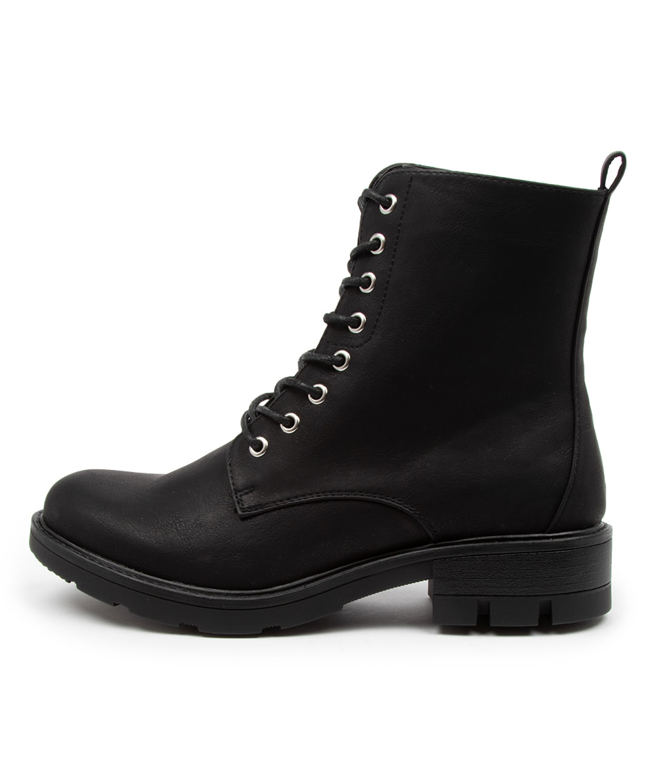 Buy Verali Narita Ve Black Ankle Boots online with free shipping
