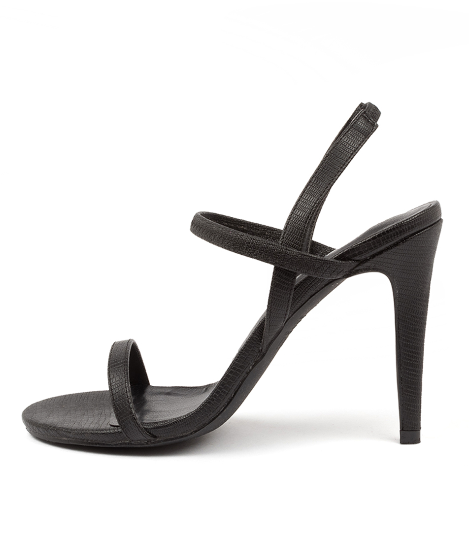 Buy Verali Obsess Ve Black Heeled Sandals online with free shipping