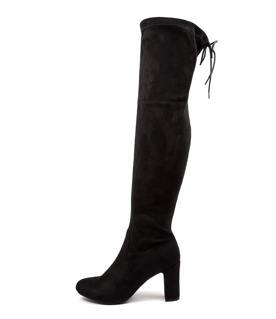 Buy Verali Zeebra Ve Black Long Boots online with free shipping