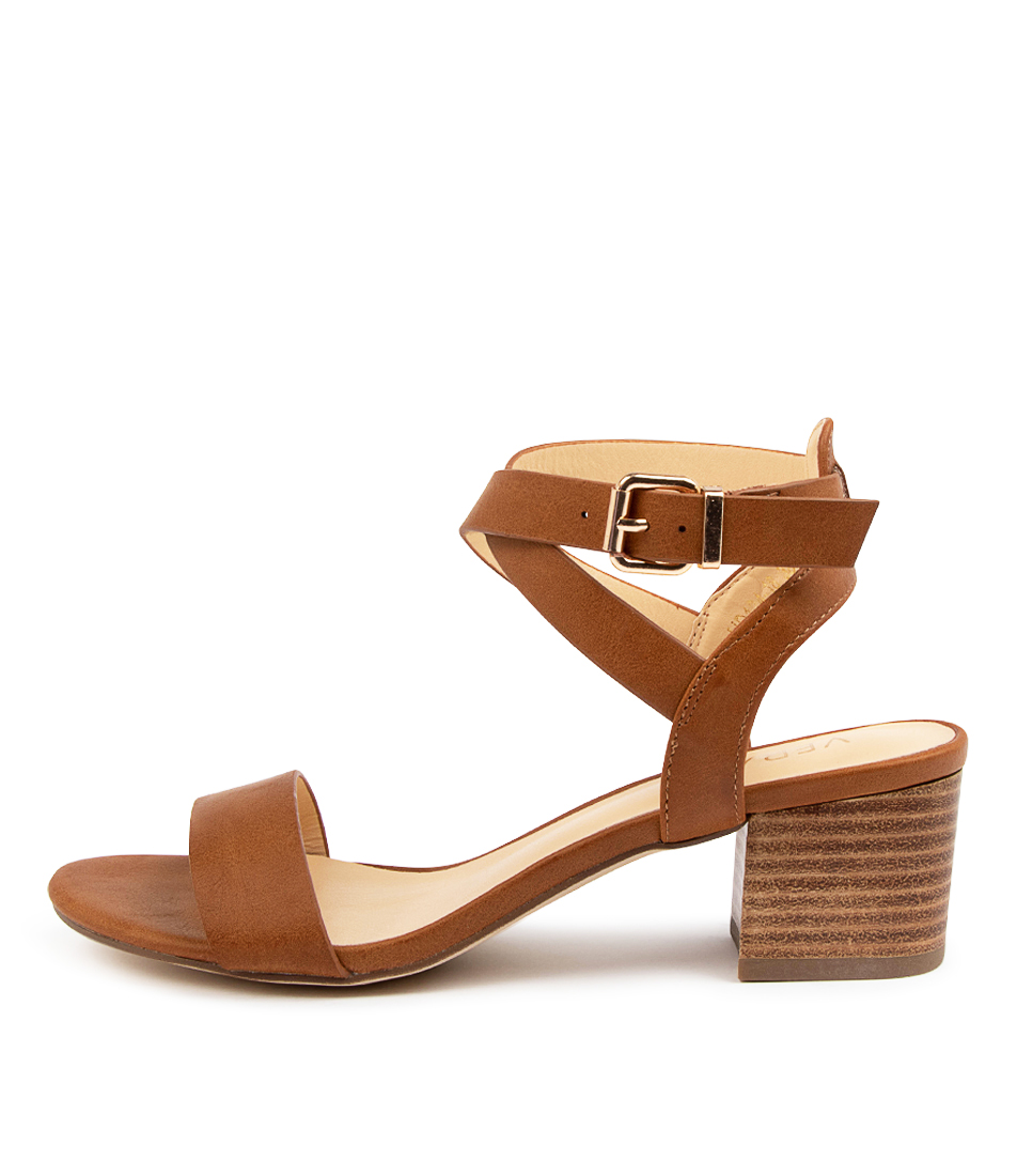 Buy Verali Ezra Ve Tan Heeled Sandals online with free shipping
