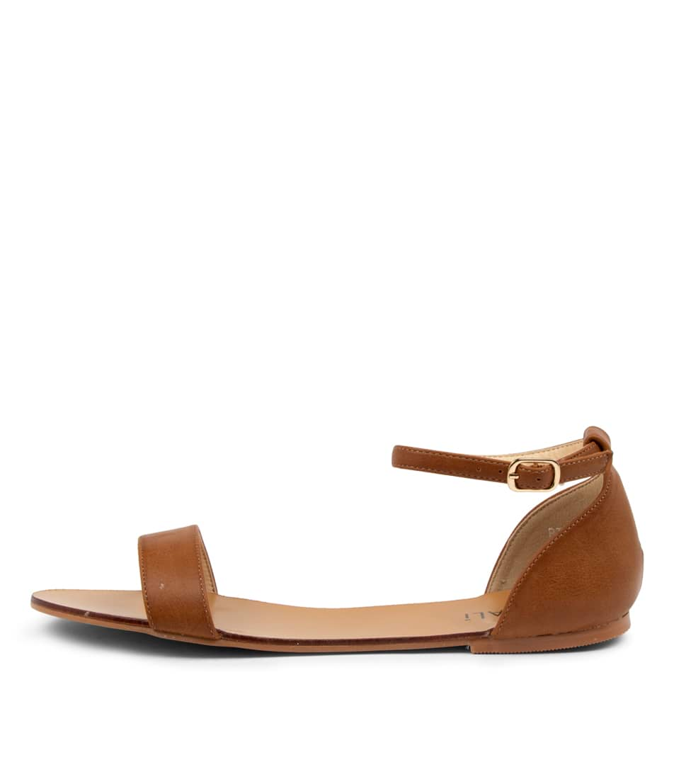 Buy Verali Bailey Ii Ve Tan Flat Sandals online with free shipping