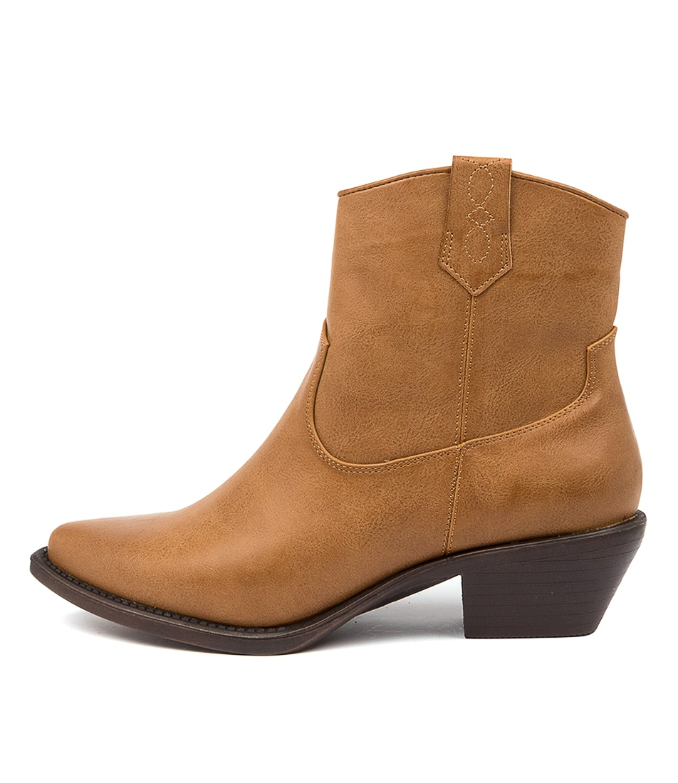 Buy Verali Tracker Ve Tan Ankle Boots online with free shipping