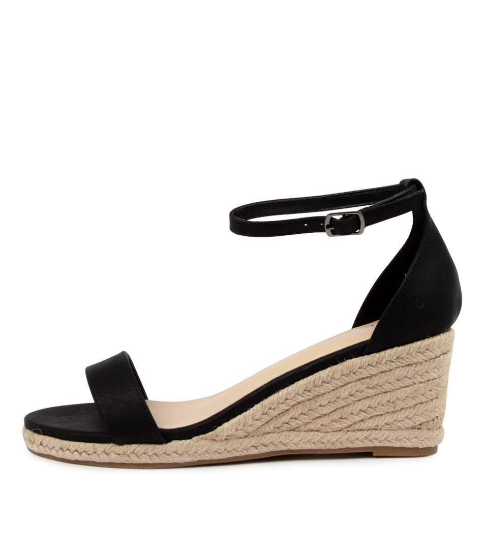 Buy Verali Bobbie Ve Black Heeled Sandals online with free shipping