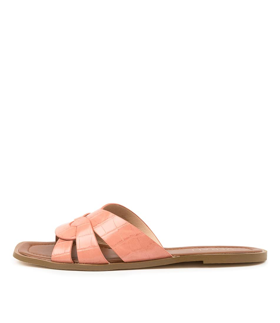 Buy Verali Glam Ve Pink Flat Sandals online with free shipping