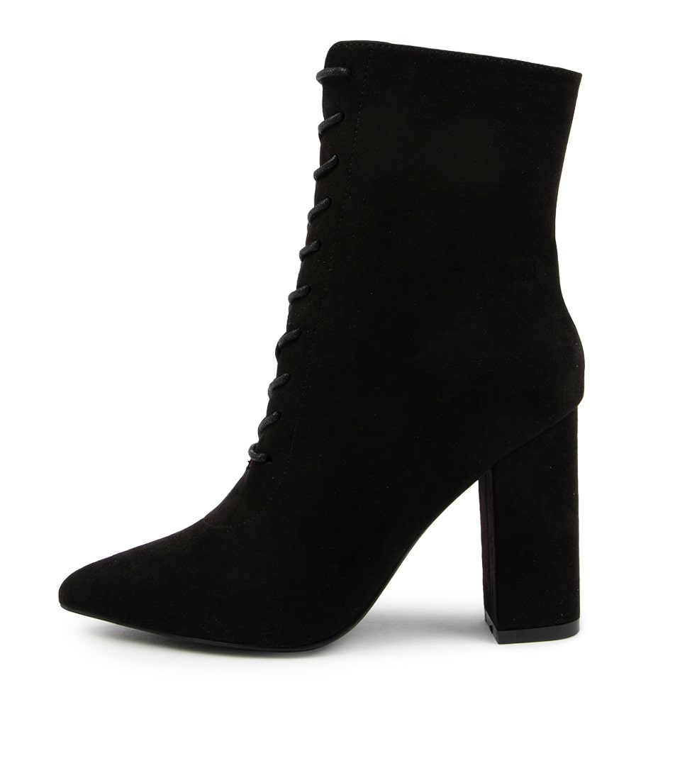 Buy Verali Danielle Ve Black Ankle Boots online with free shipping