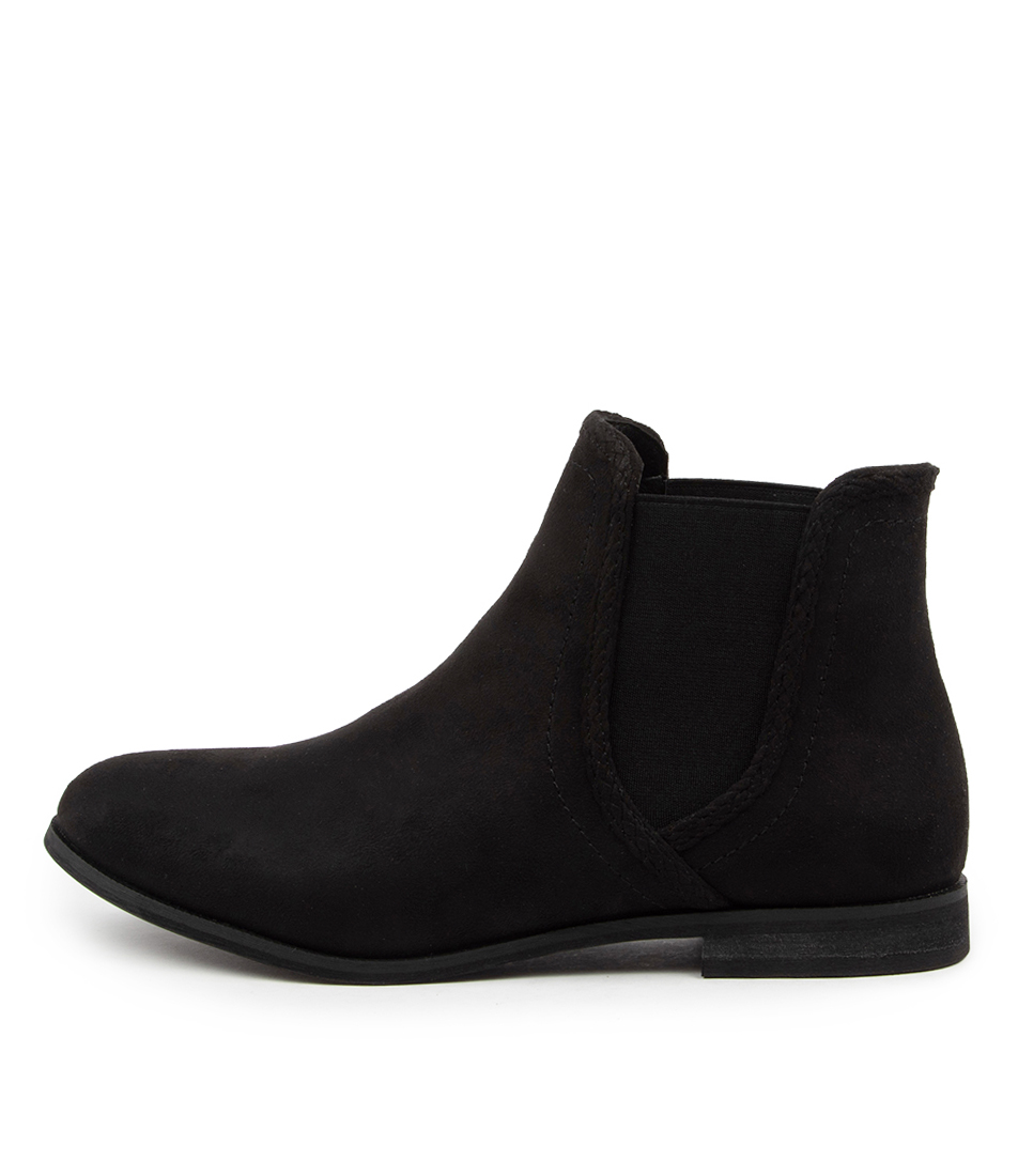 Buy Verali Ellery Ve Black Ankle Boots online with free shipping