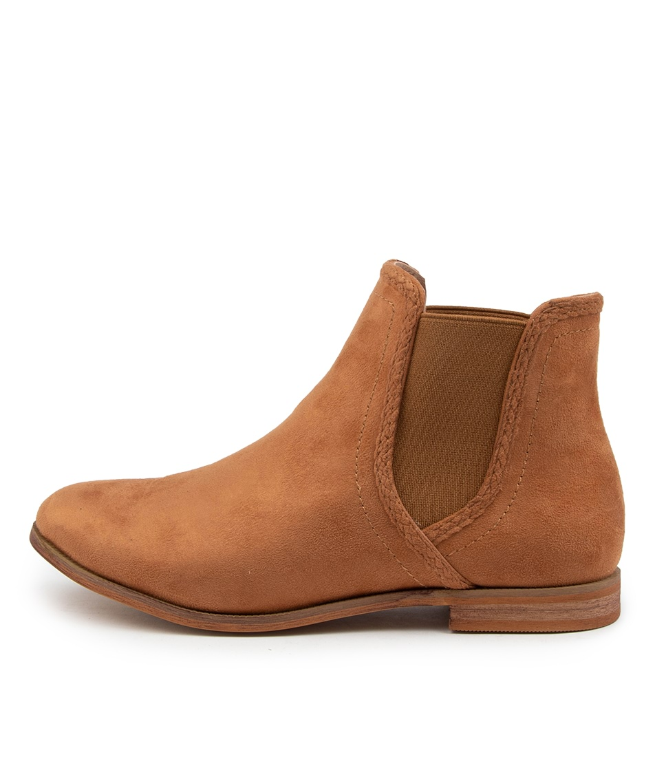 Buy Verali Ellery Ve Caramel Ankle Boots online with free shipping