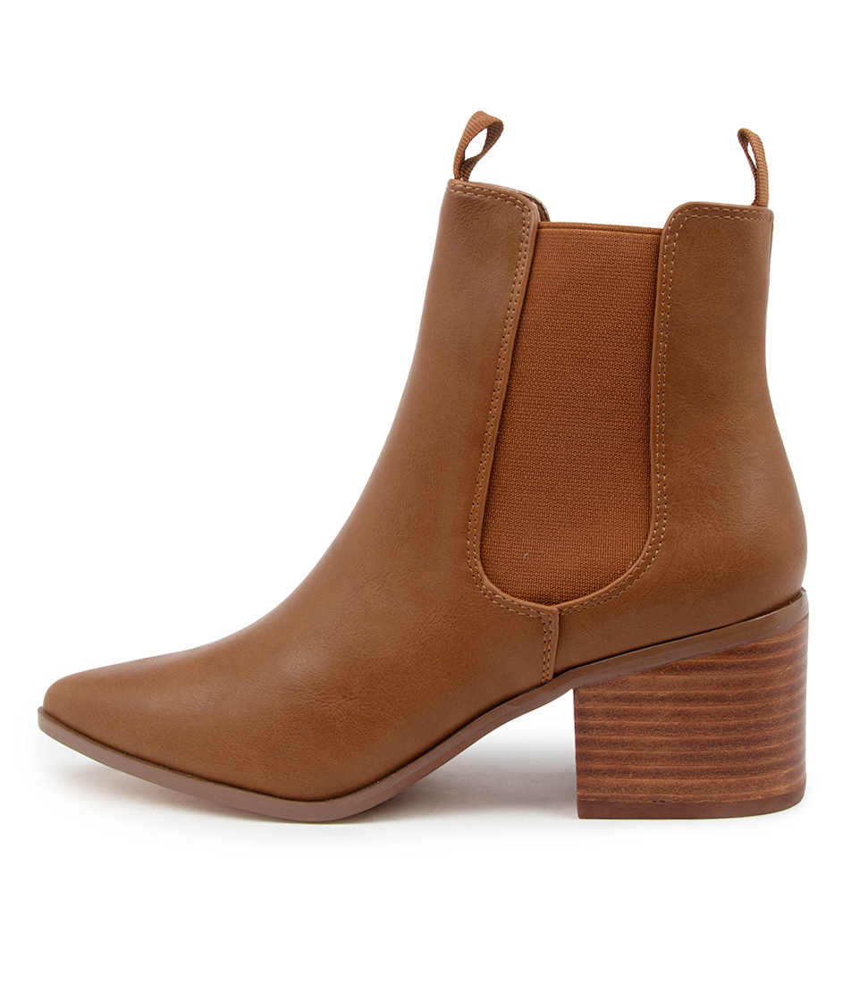 Buy Verali Filo Ve Tan Ankle Boots online with free shipping