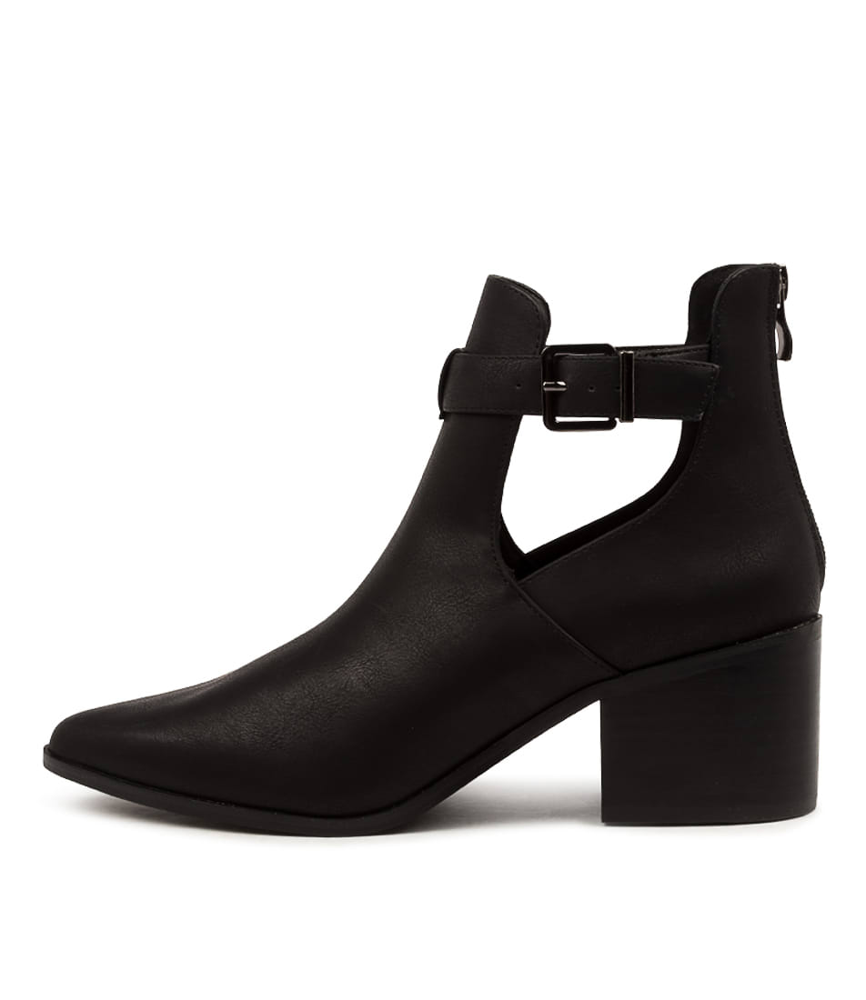 Buy Verali Fitz Ve Black Ankle Boots online with free shipping