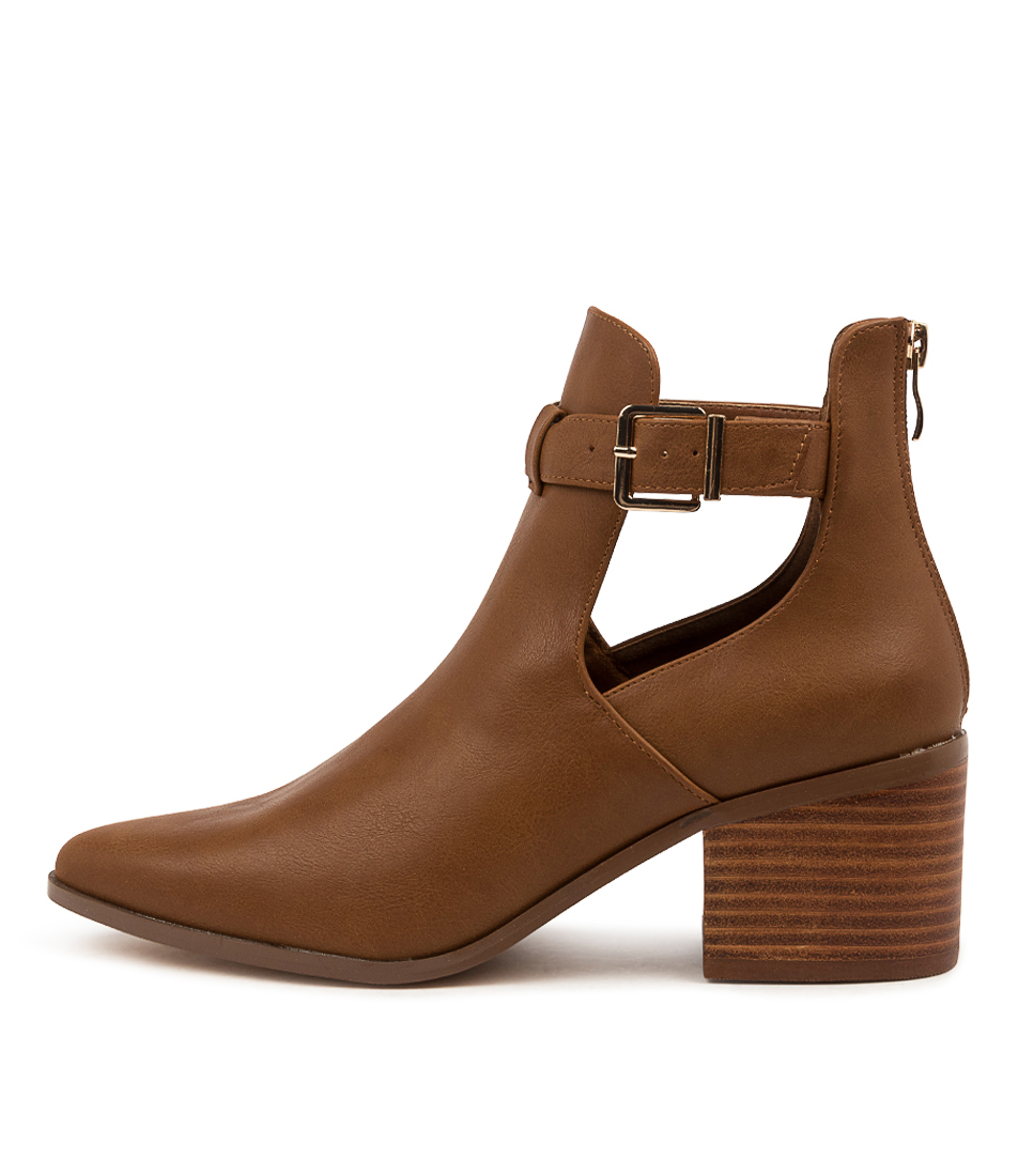Buy Verali Fitz Ve Tan Ankle Boots online with free shipping