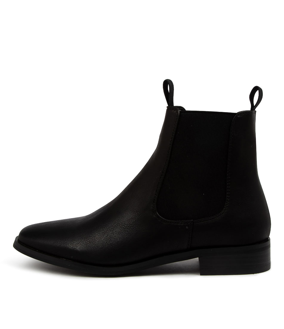 Buy Verali Harper Ve Black Ankle Boots online with free shipping