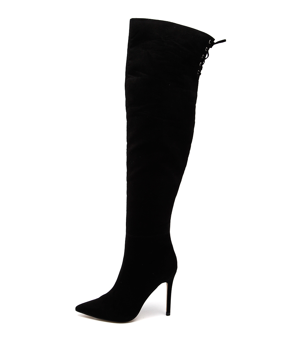 Verali Hayley Black Dress Long Boots