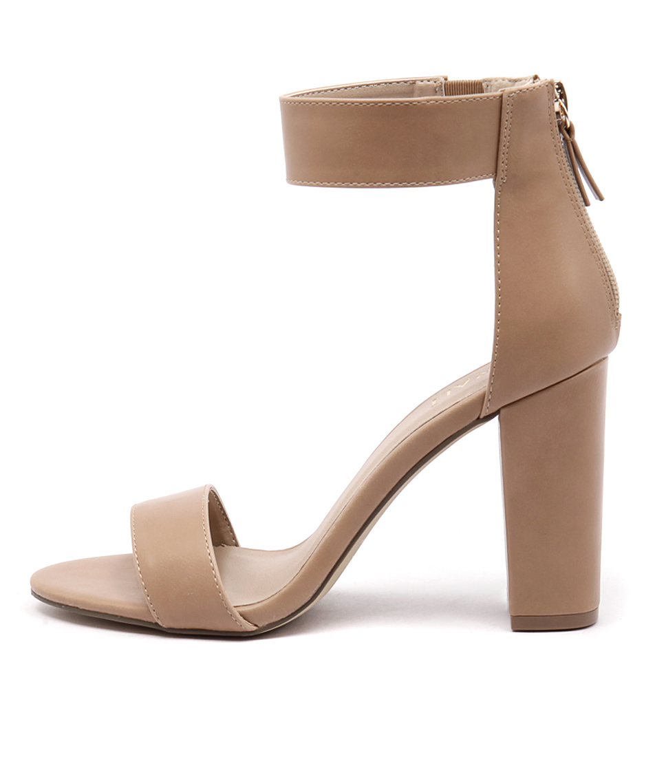 Verali Carlo Nude Dress Heeled Sandals