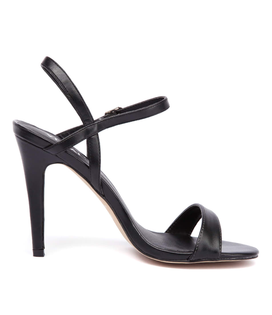 New Verali Odette Ve Black Womens Shoes Casual Sandals Heeled
