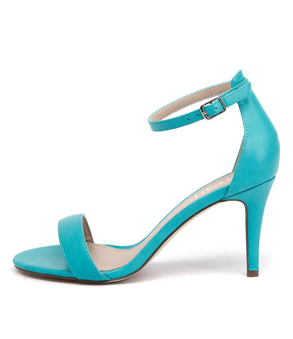 Verali Matthew Turquoise Heeled Sandals