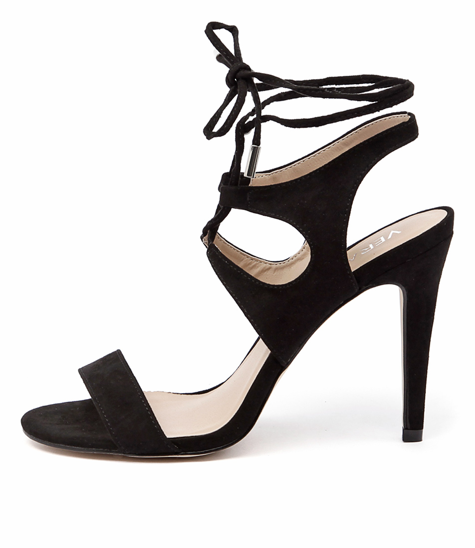 Verali Owen Ve Black Heeled Sandals