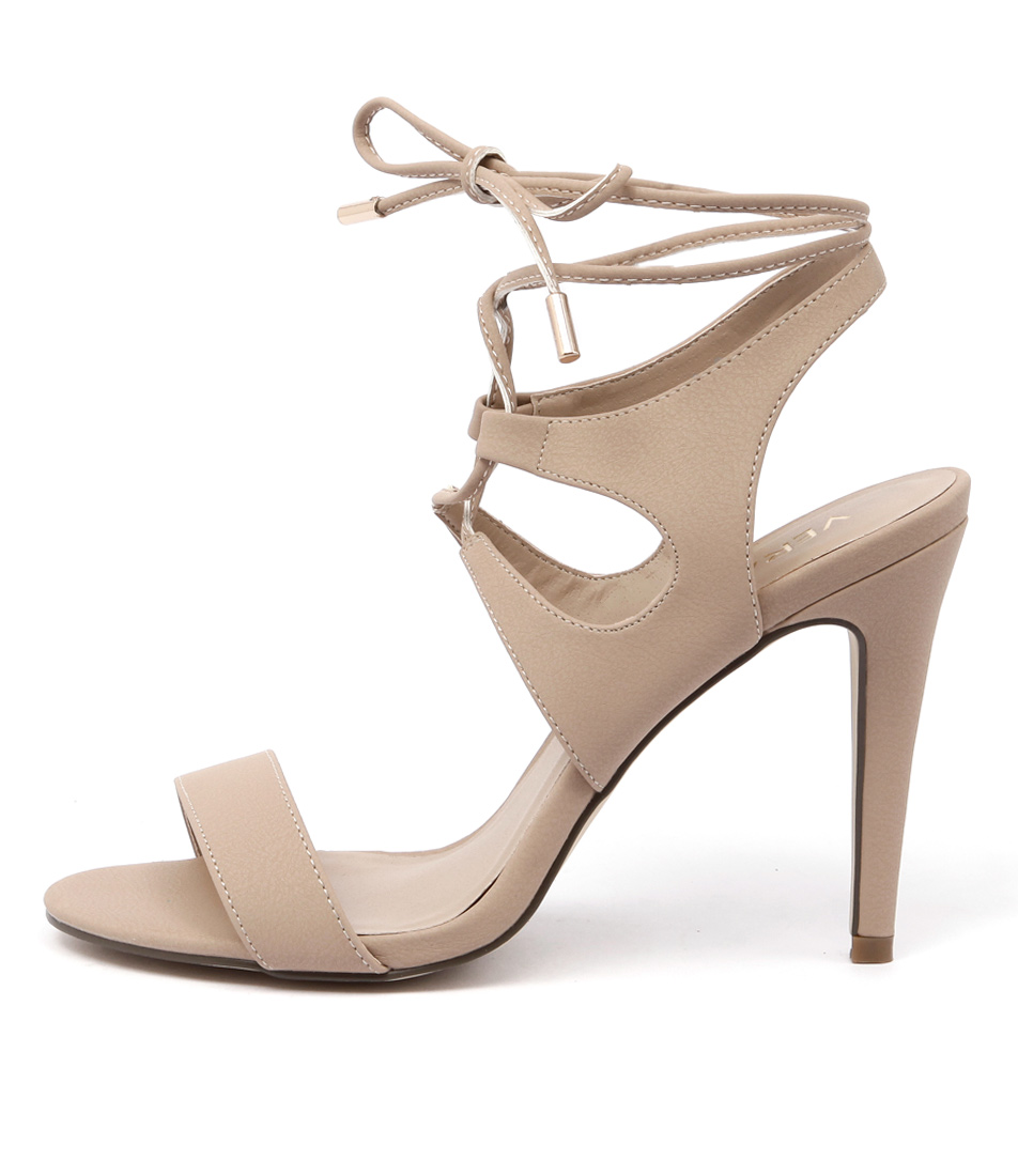 Verali Owen Ve Nude Dress Heeled Sandals