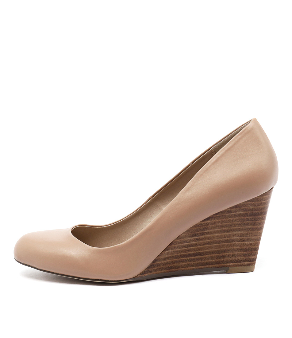 Verali Merry Ve Nude Casual Heeled Shoes