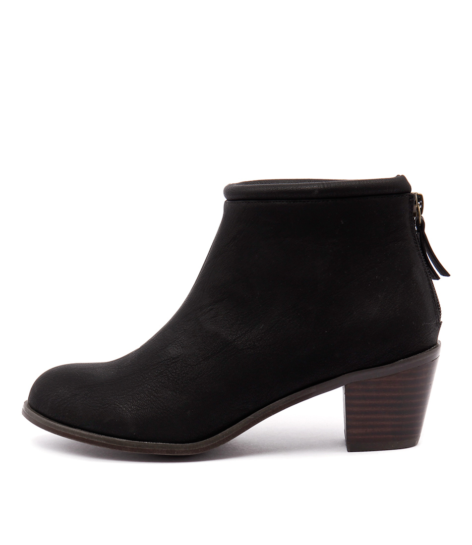 Verali Johnny Black Ankle Boots