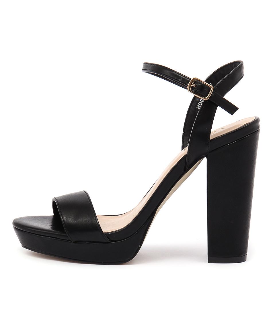 Verali Lincoln Black Heels