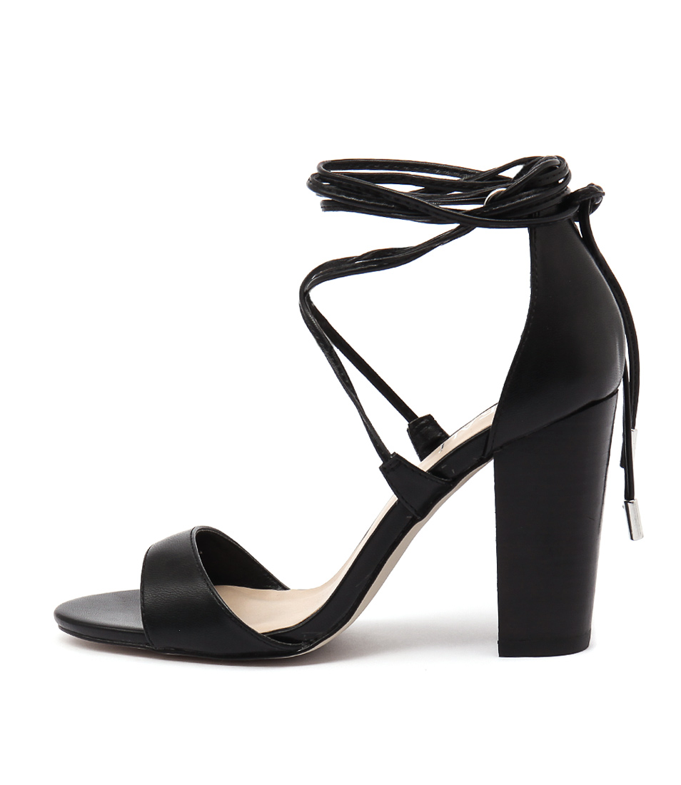 Verali Celtic Black Heels