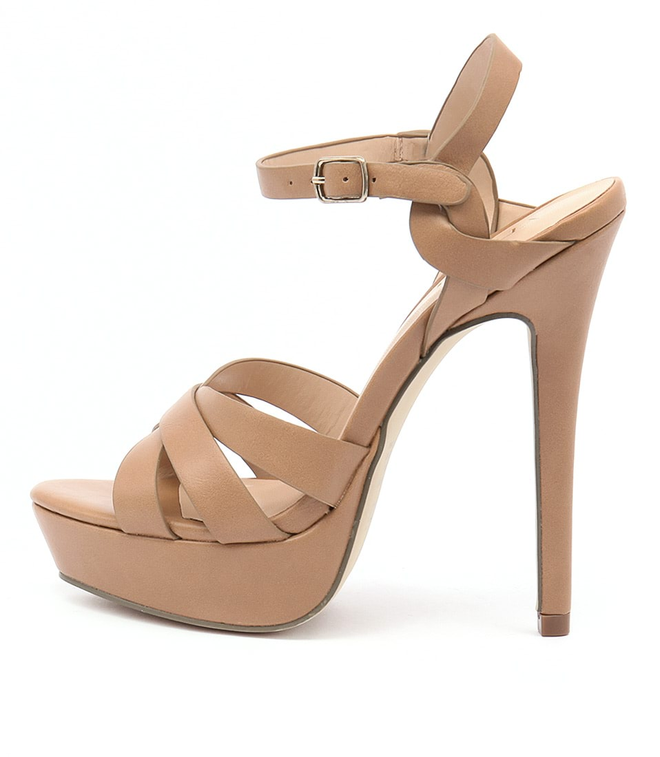 Verali Harriet Light Tan Dress Heeled Sandals