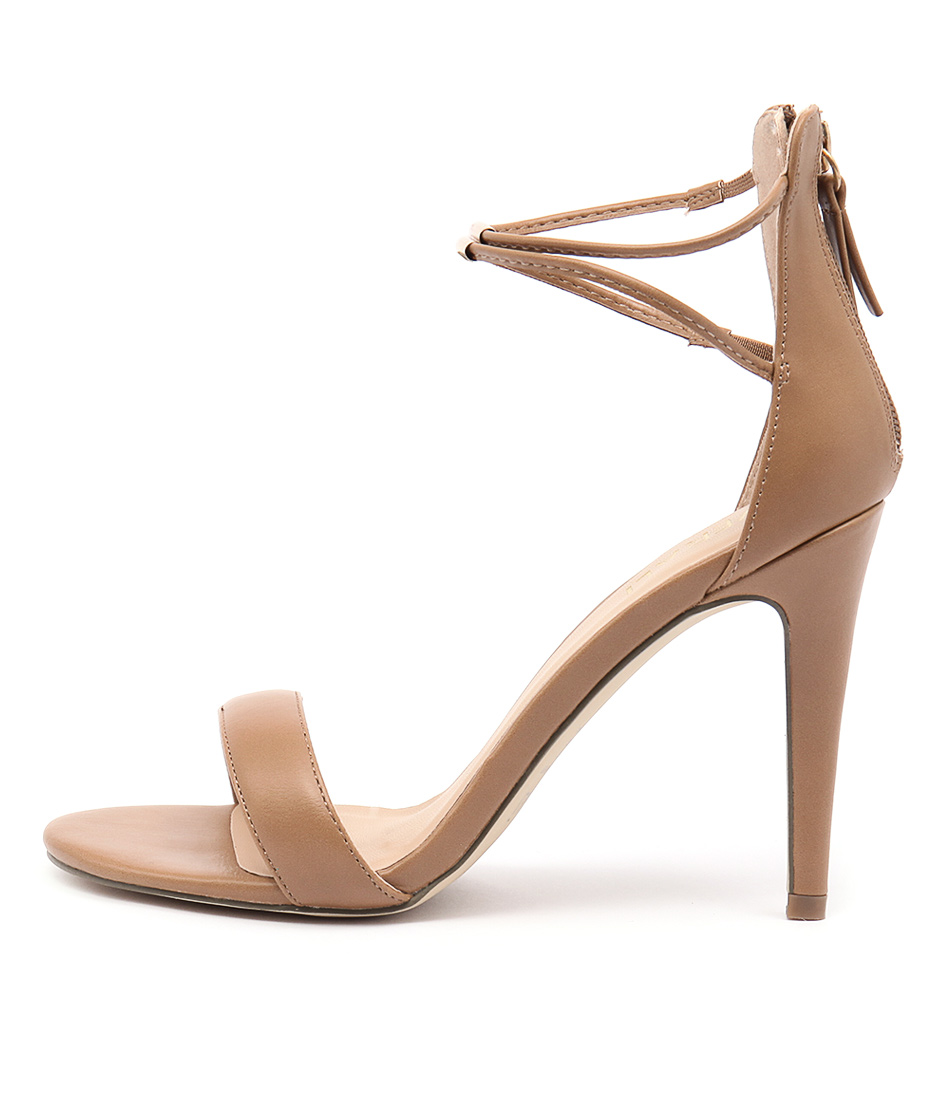 Verali Odyssey Light Tan Dress Heeled Sandals