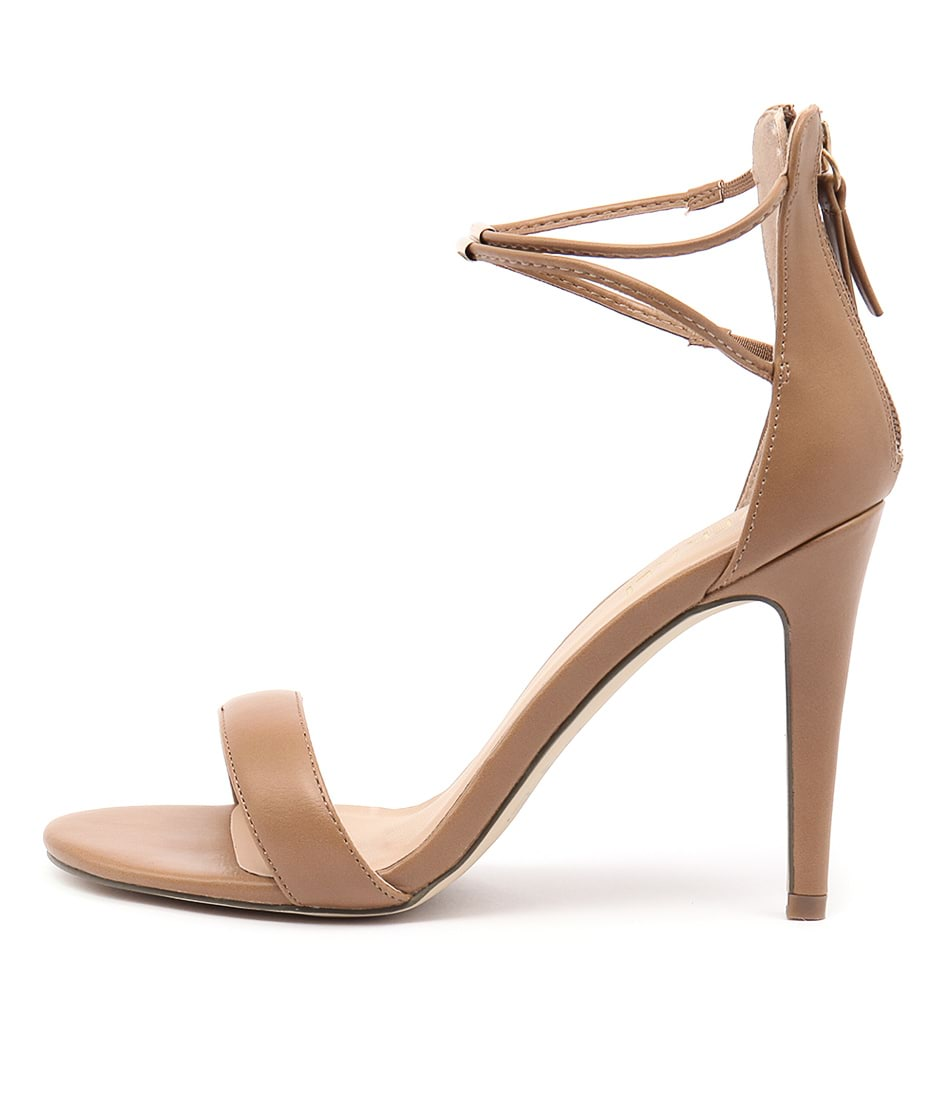Verali Odyssey Light Tan Heeled Sandals