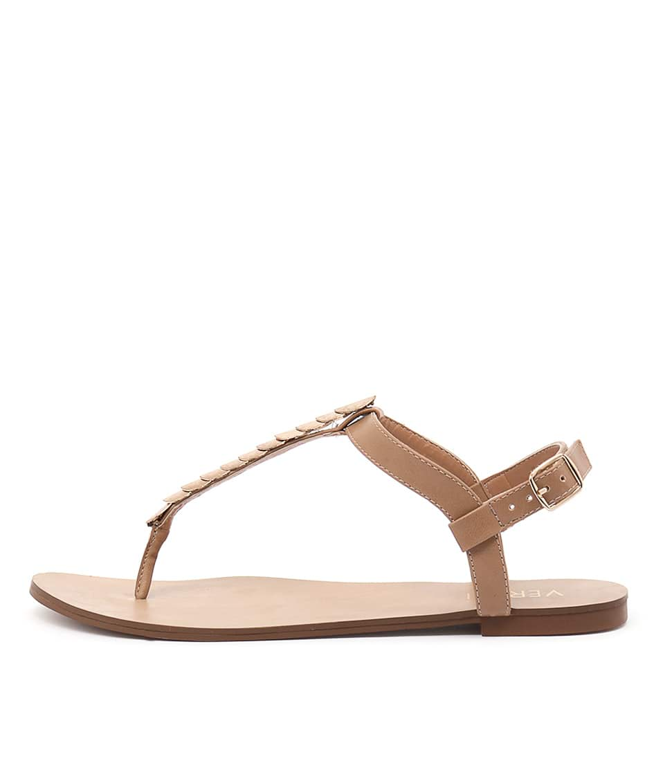 Verali Sabina Ve Light Tan Casual Flat Sandals