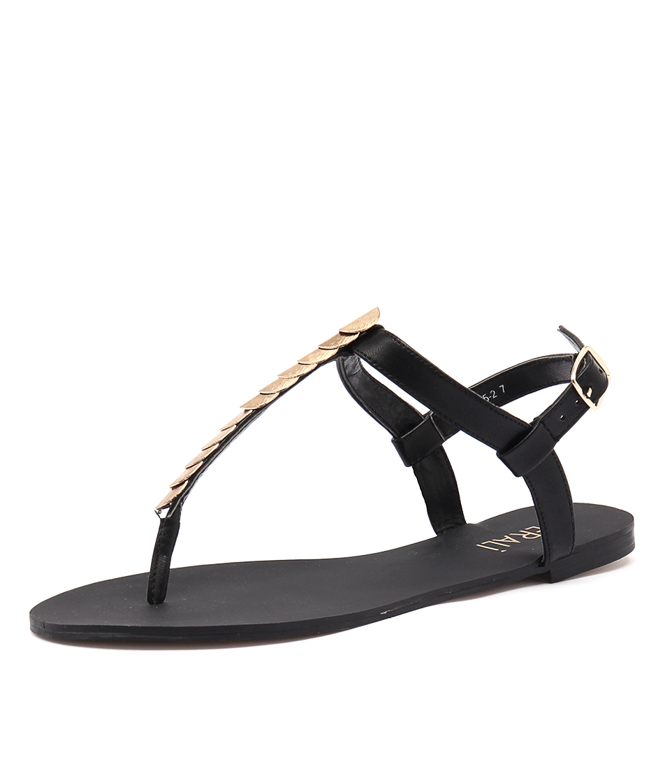 New Verali Sabina Ve Black Womens Shoes Casual Sandals Sandals Flat
