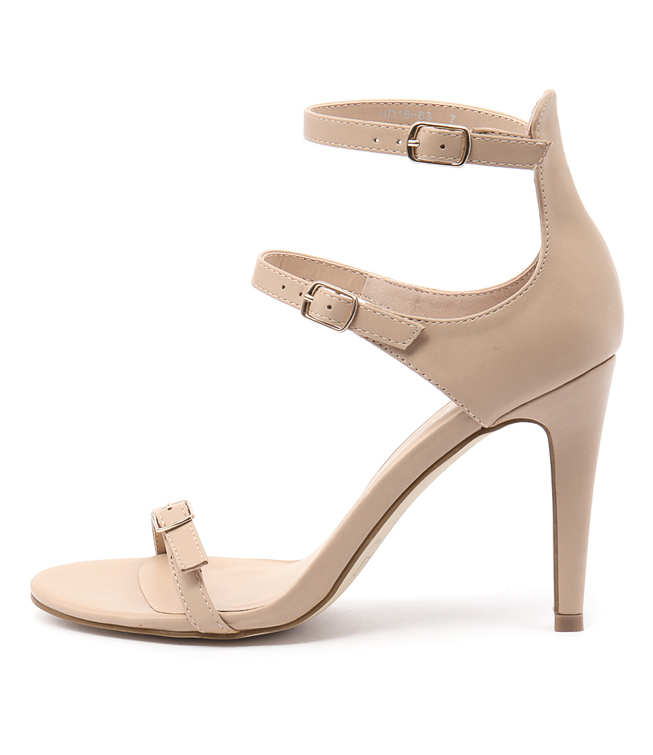 Verali Olga Ve Nude Dress Heeled Sandals