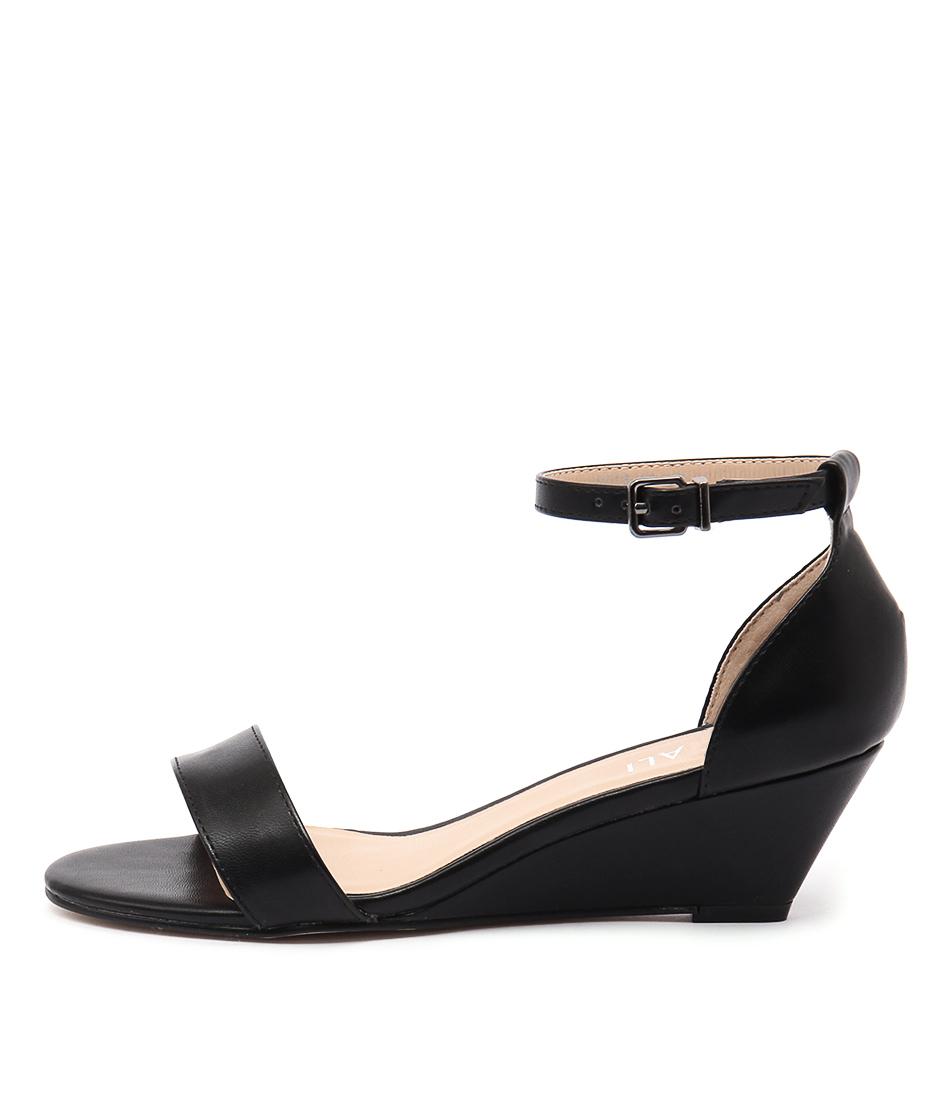 Verali Kiss Ve Black Dress Heeled Sandals