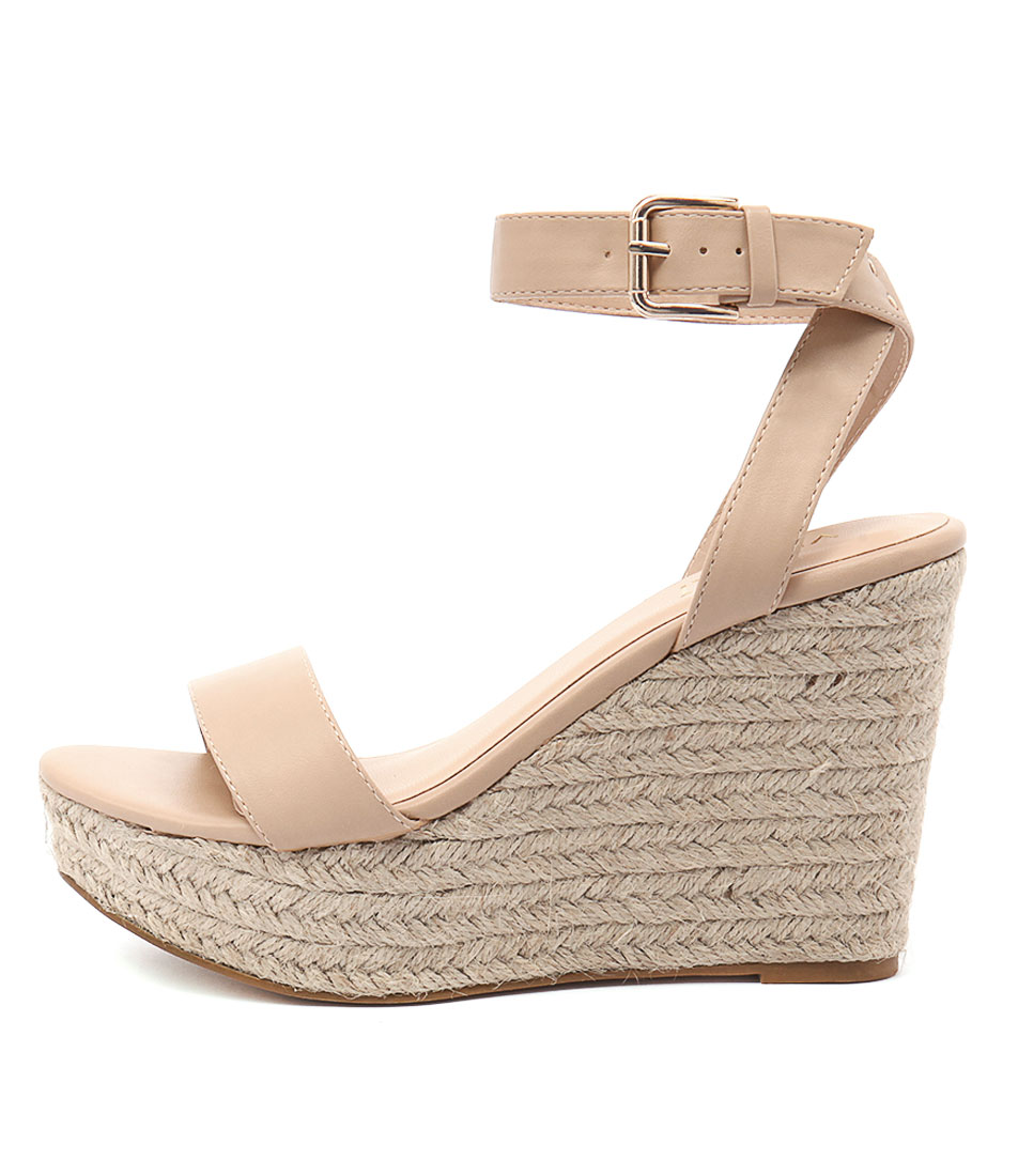 Verali Amici Nude Casual Heeled Sandals
