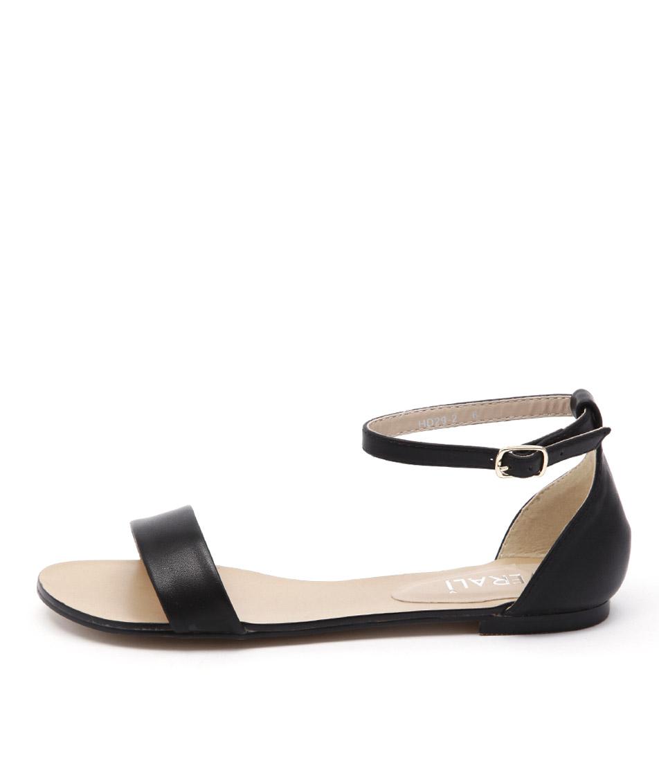 Verali Rae Ve Black Sandals