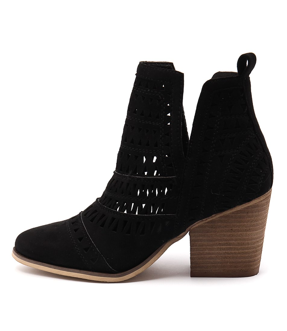 Buy Verali Karina Ve Black Ankle Boots online with free shipping