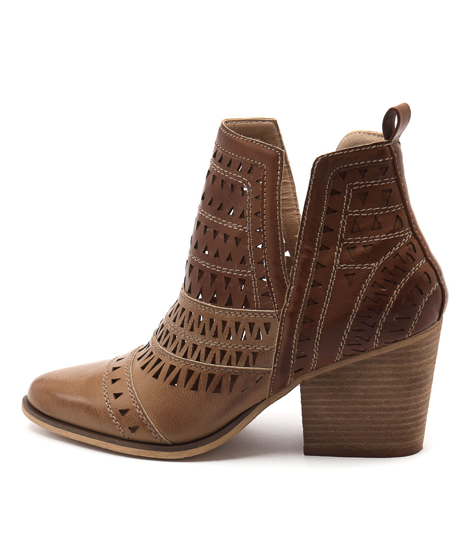 buy Verali Karina Ve Tan Multi Ankle Boots shop Verali Boots, Ankle Boots online