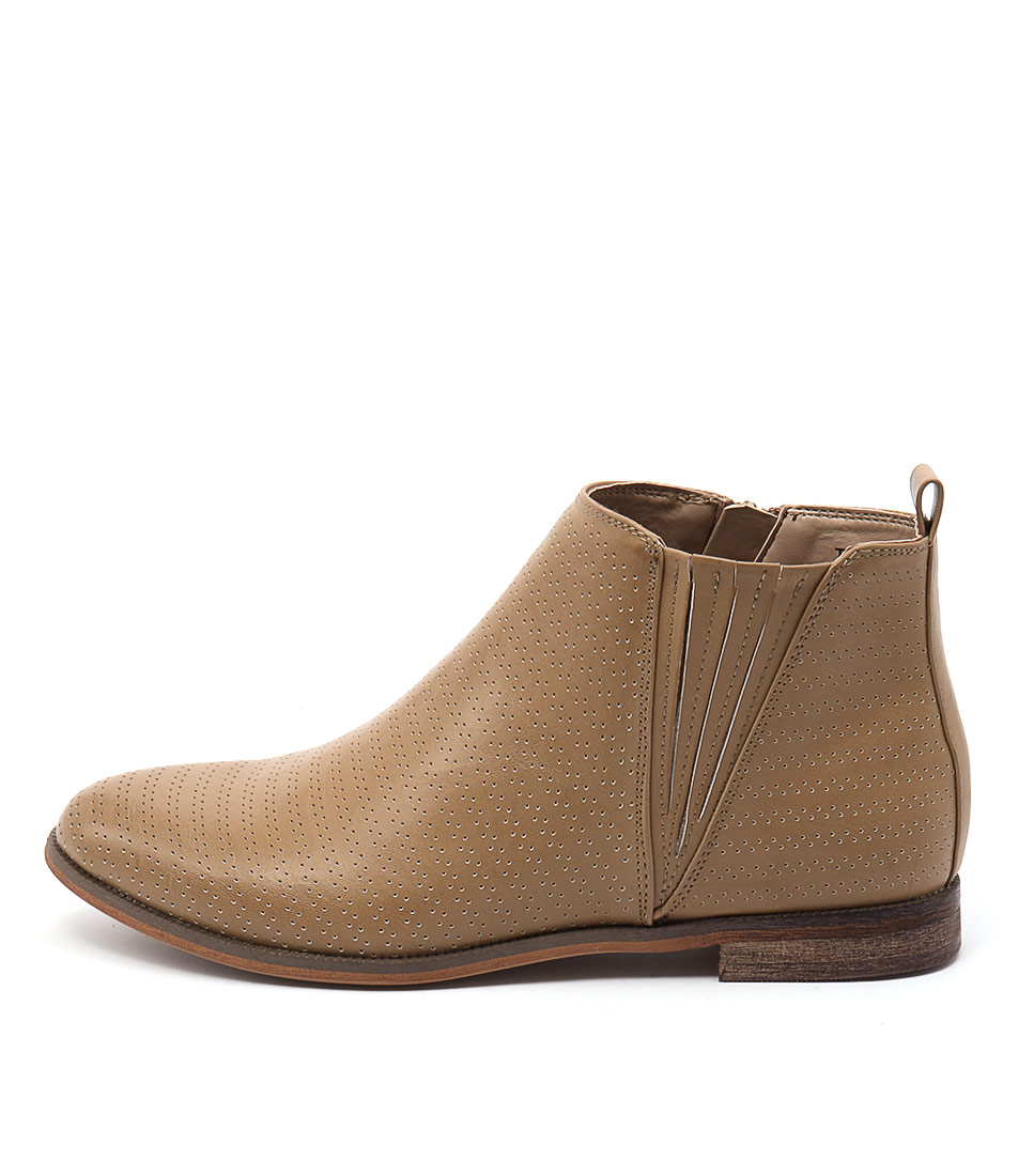 Verali Evan Ve Camel Casual Ankle Boots
