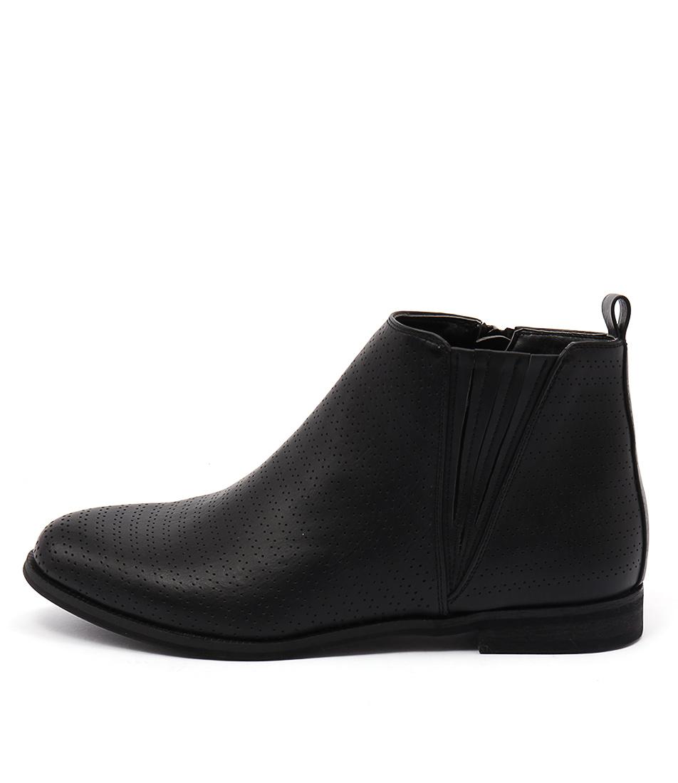 Verali Evan Ve Black Ankle Boots