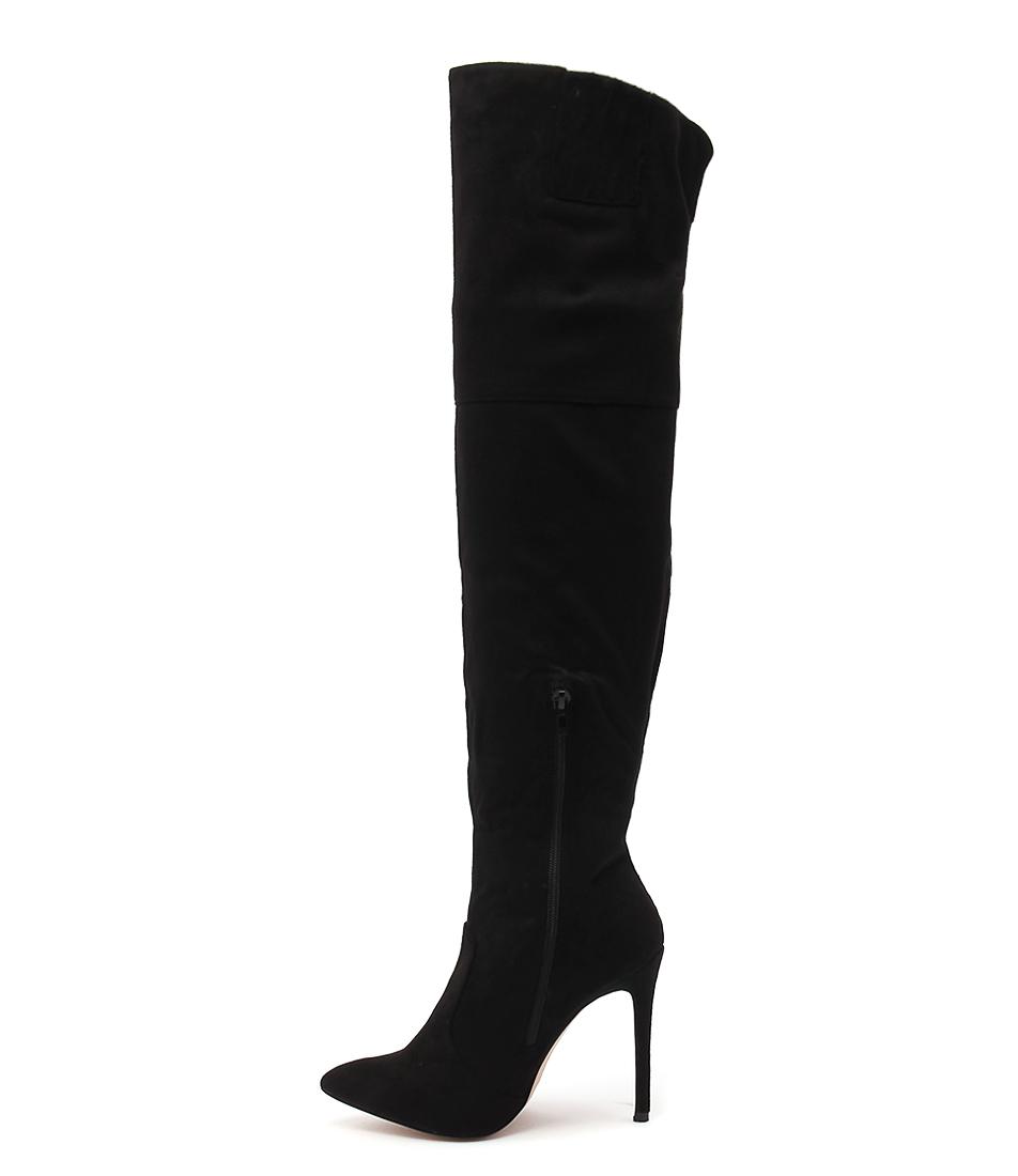 Verali Salvatore Black Dress Long Boots