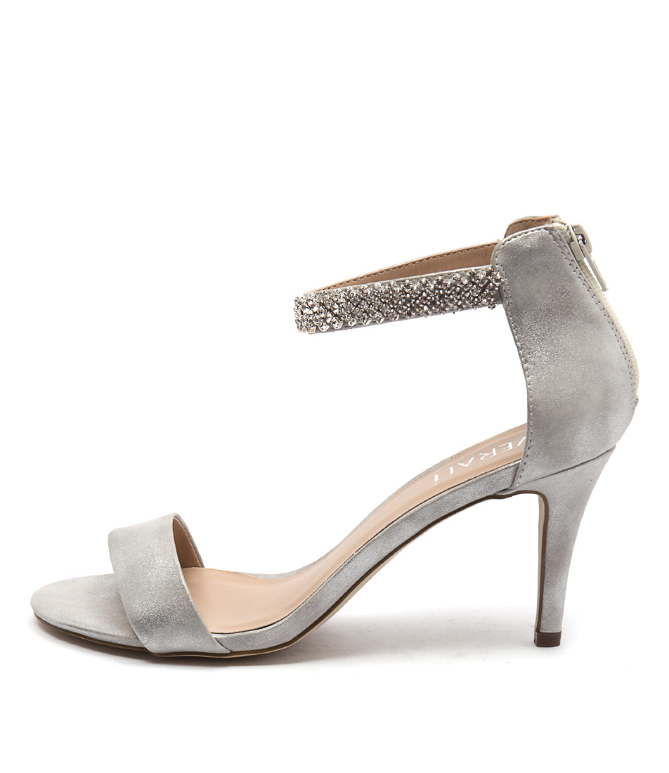 Verali Magnolia Ve Silver Sheen Dress Heeled Sandals