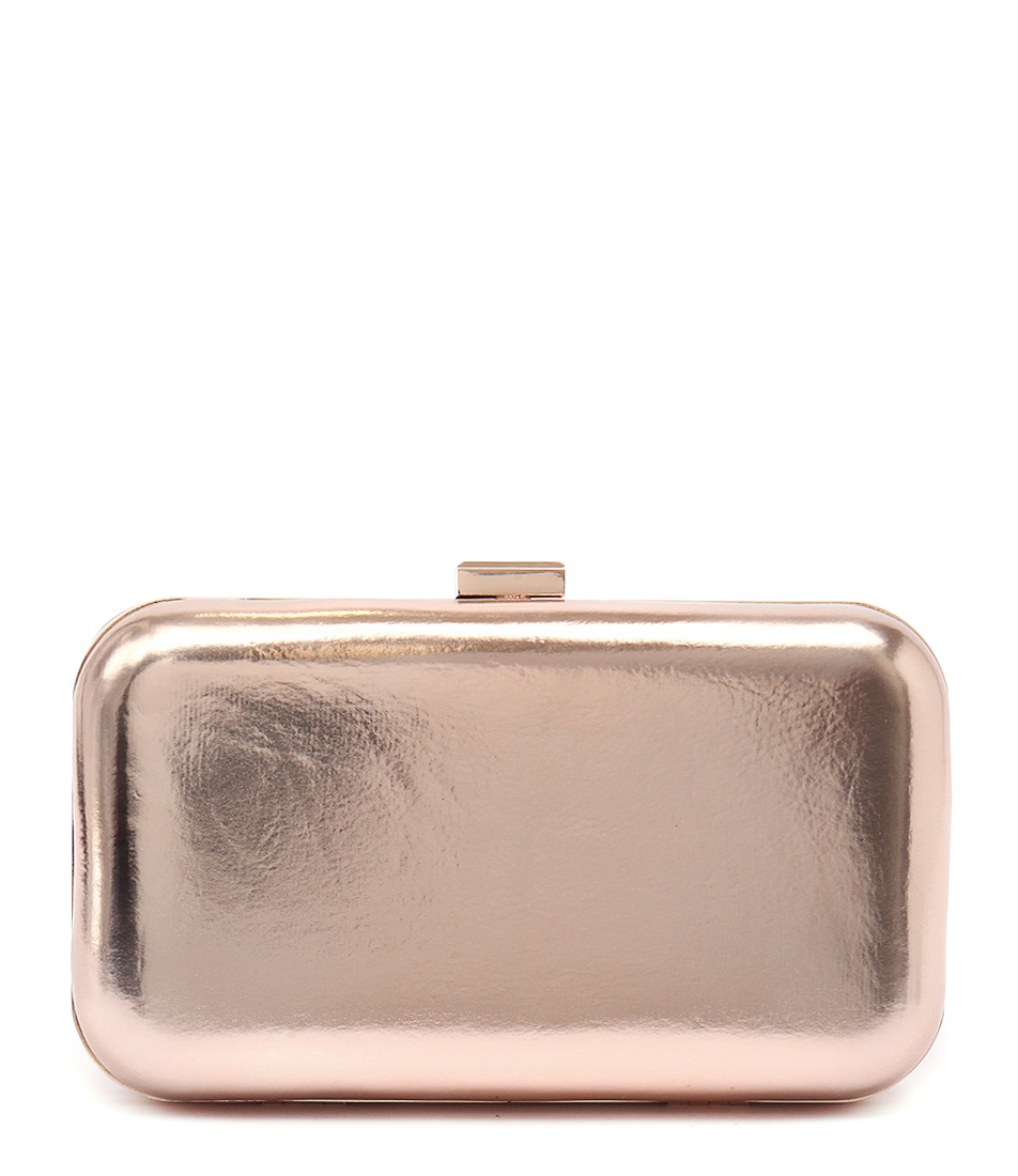 Verali Titan Ve Rose Gold Bags Womens Shoes Party Clutch Bags