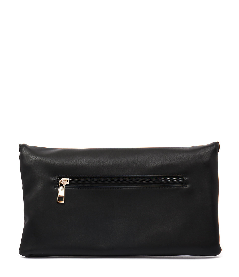 Verali Casey Ve Black Clutch Bags