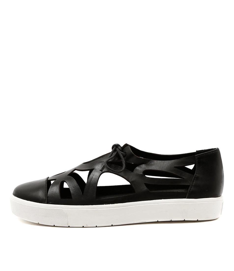 Silent D Vero Black Sneakers