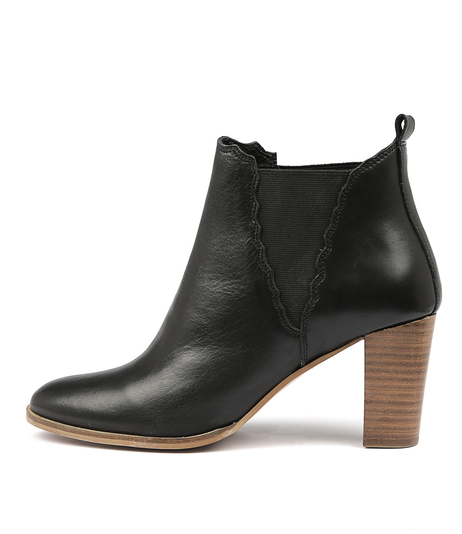Valeria Grossi Clust W Black Ankle Boots