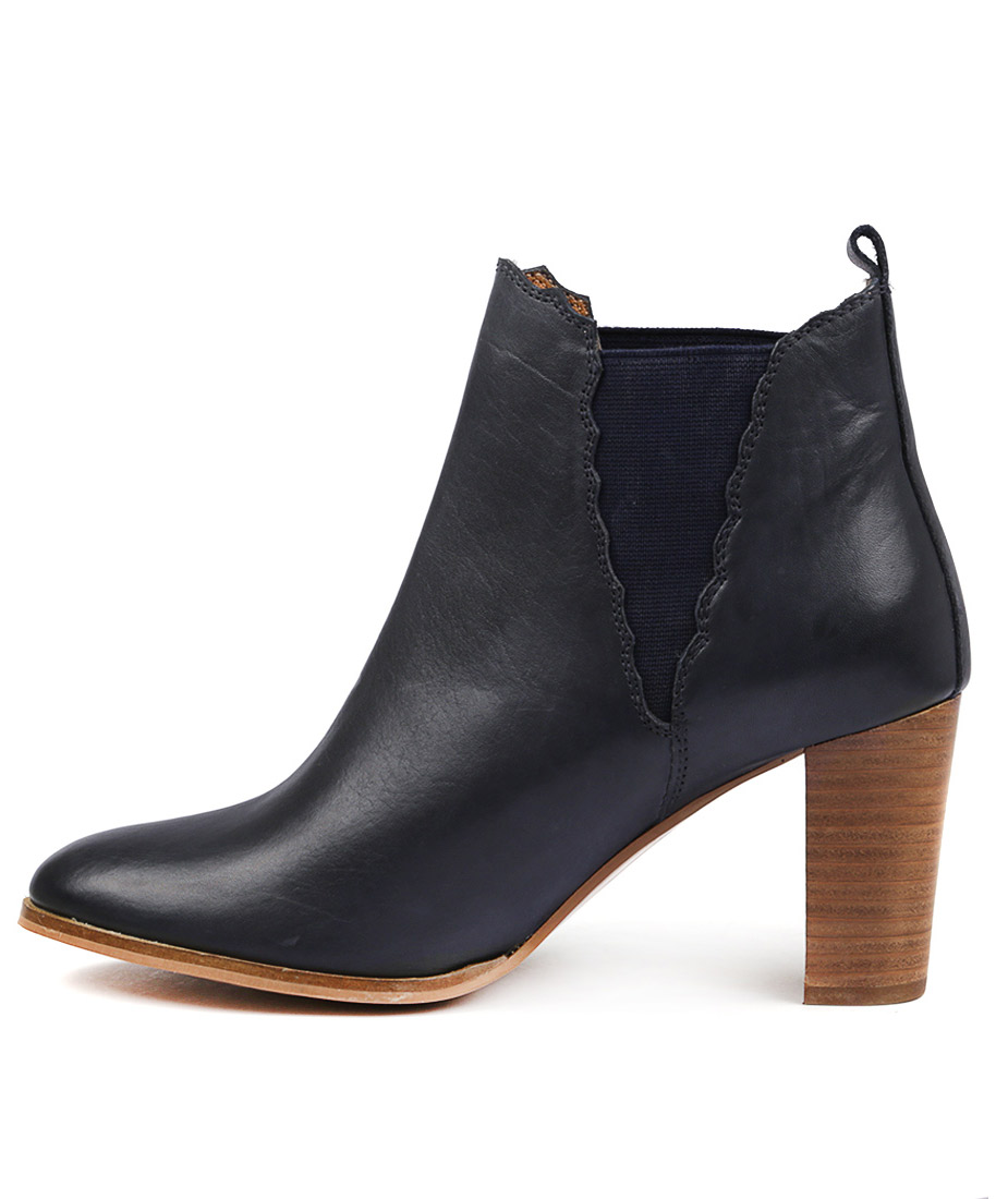 Valeria Grossi Clust W Navy Ankle Boots