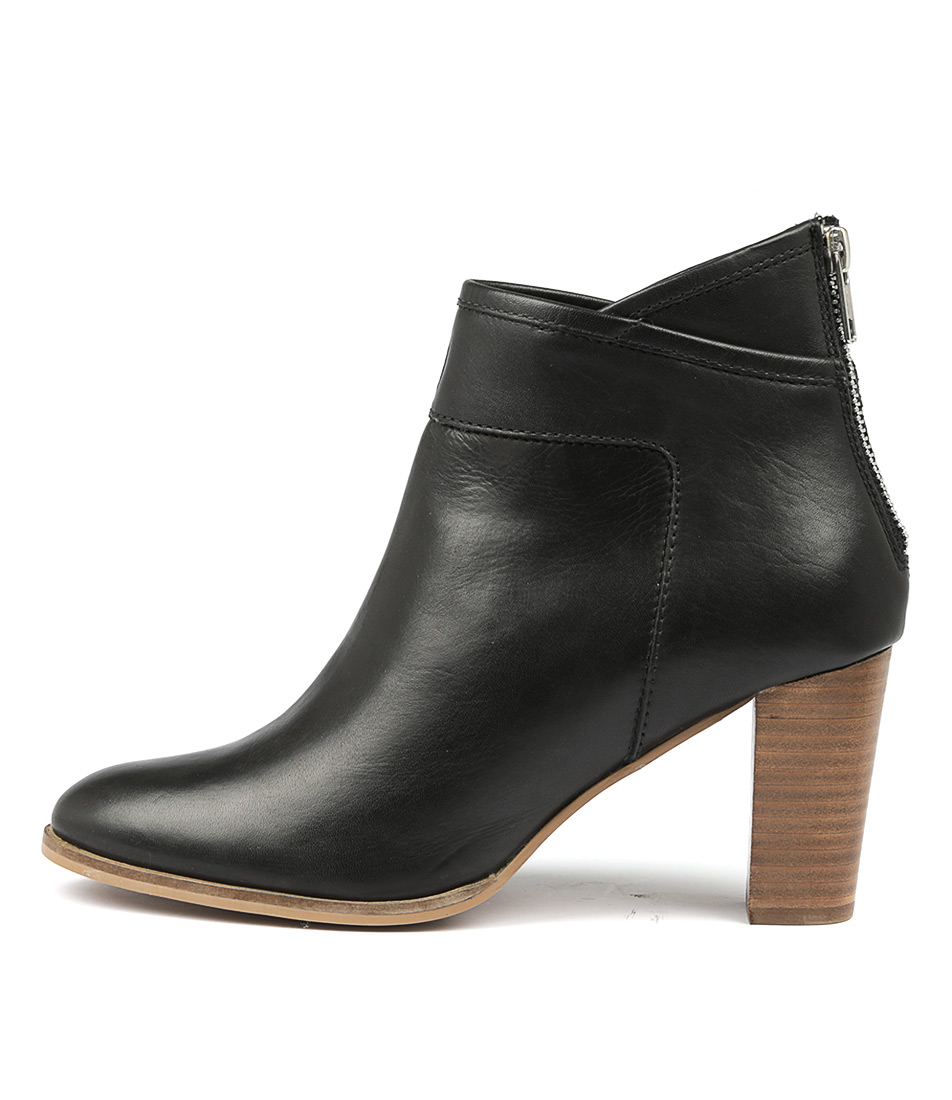 Valeria Grossi Club W Black Ankle Boots