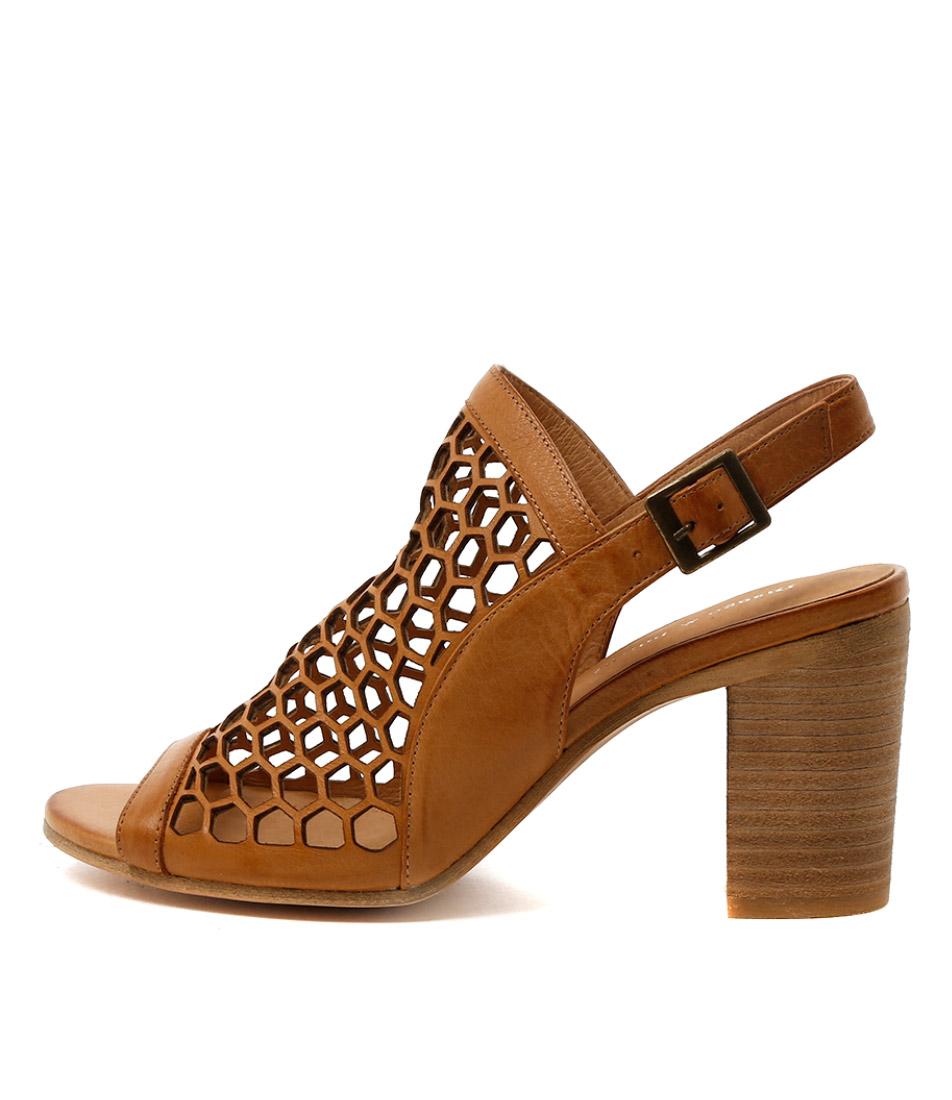 Buy Django & Juliette Vikki Tan Heeled Sandals online with free shipping